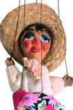 Hanging puppet. This is an image of a spanish puppet on strings royalty free stock image