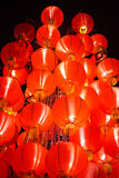 Hanging Red Lantern. On Chinese Lunar New Year royalty free stock images