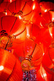 Hanging Red Lantern. On Chinese Lunar New Year Stock Photos