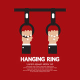 Hanging Ring In The Public Transport Vehicles Stock Photo
