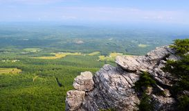 HAnging rock Royalty Free Stock Photos