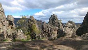 Hanging rock. Australia hiking outdoors Stock Image