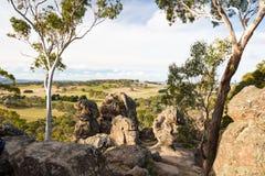 Hanging Rock in Macedon Ranges Royalty Free Stock Photos