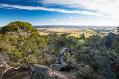 Hanging Rock in Macedon Ranges Royalty Free Stock Images