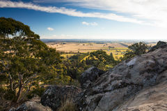 Hanging Rock in Macedon Ranges Stock Photo