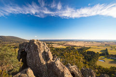 Hanging Rock in Macedon Ranges Royalty Free Stock Photography