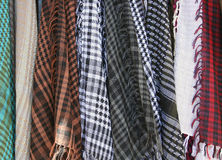 Hanging Shawls Royalty Free Stock Images