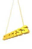 hanging success thread Στοκ Εικόνες