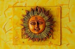 Hanging Sun Stock Photo