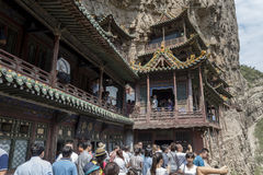 The hanging temple Stock Image