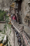 The hanging temple Stock Photos