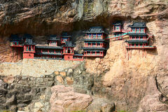 The Hanging Temple Royalty Free Stock Image