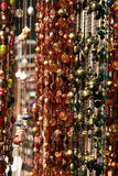 Hanging Textured Necklaces stock image