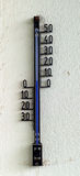 Hanging thermometer Stock Photos