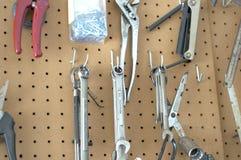 Hanging Tools Royalty Free Stock Photos