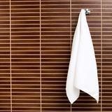 Hanging towel Royalty Free Stock Image