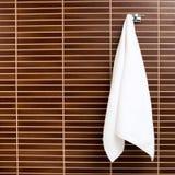 Hanging towel Royalty Free Stock Image