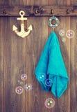 Hanging Towel stock photos