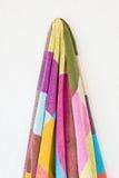 Hanging towel Stock Image