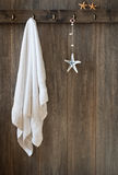 Hanging Towel Royalty Free Stock Images