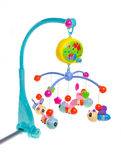Hanging toy attached to a baby cot. Royalty Free Stock Image