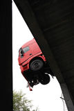 Hanging truck Royalty Free Stock Photography