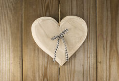 Hanging valentines heart Royalty Free Stock Images