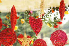 Hanging vine ornaments Royalty Free Stock Photo