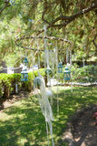 Hanging Wedding decorations Stock Photos