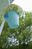 Hanging wedding flowers Royalty Free Stock Photo