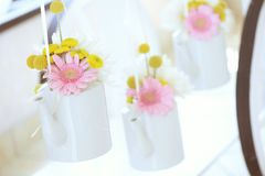 Hanging wedding flowers Stock Photography