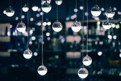 Hanging, Wire, Ball, Decoration Royalty Free Stock Photography