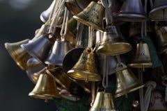 Hanging wishing bells Royalty Free Stock Photo