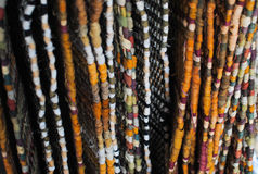 Hanging Woven Rugs Stock Photography