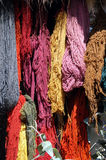 Hanging Yarn Stock Photo