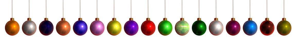 hangings рождества цветастые Стоковое фото RF