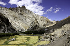 Hangkar Village and Fort Stock Images