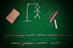 Hangman Stock Image