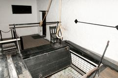 Hangman Gallows Royalty Free Stock Images