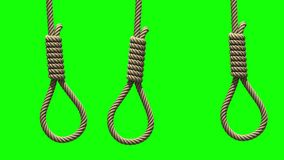 Hangman kluczki na zieleni, bezszwowa pętla ilustracja wektor