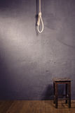 Hangman noose with loops Stock Photos