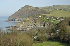 Hangman Point, Combe Martin Royalty Free Stock Photos