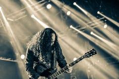 Hangman`s Chair live concert 2016, Hellfest Stock Photo