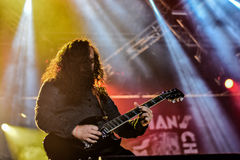 Hangman`s Chair live concert 2016, Hellfest Royalty Free Stock Photo