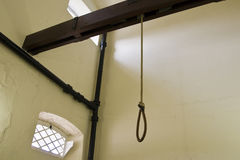 Hangman`s Noose Stock Photo