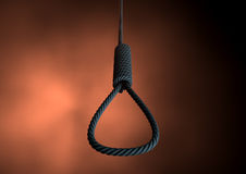 Hangmans Noose Rope Royalty Free Stock Photos