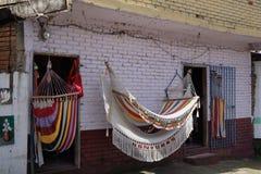 Hangmatten voor verkoop Stock Afbeeldingen