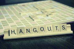 Hangouts - Business Term Stock Photos