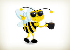 Hangover Bee Stock Photography