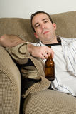 Hangover Man Royalty Free Stock Photo